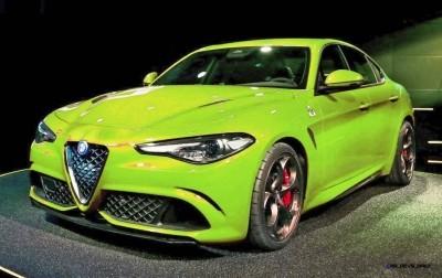 2016 Alfa Romeo Giulia Color Test 13