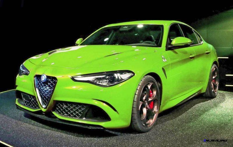 2016 Alfa Romeo Giulia Color Test 14