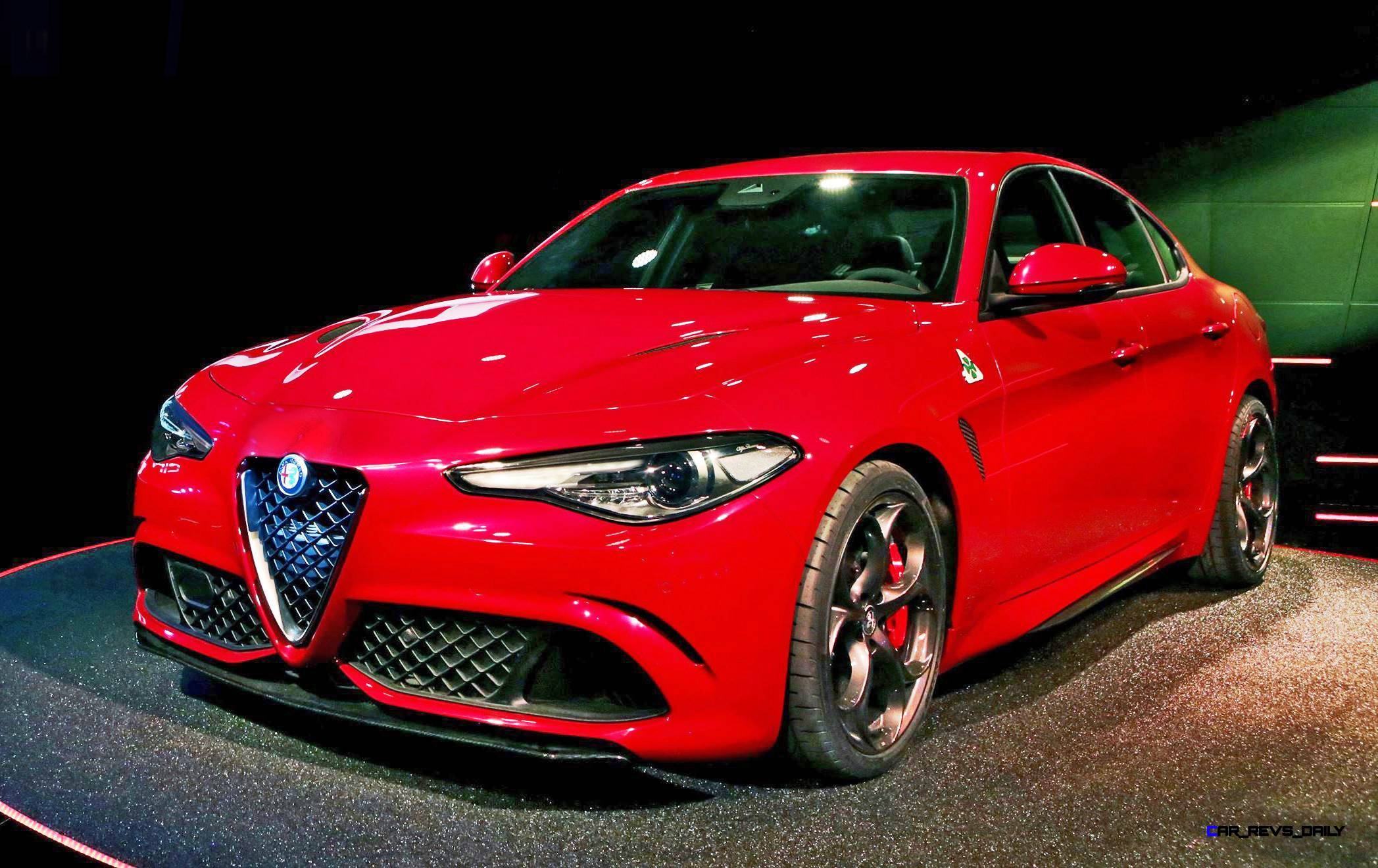 2016 alfa romeo giulia color test 4. Black Bedroom Furniture Sets. Home Design Ideas