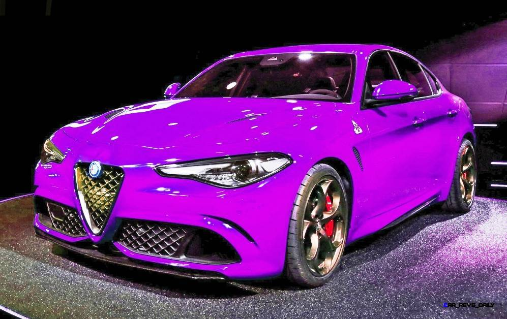 2016 alfa romeo giulia color test 8. Black Bedroom Furniture Sets. Home Design Ideas