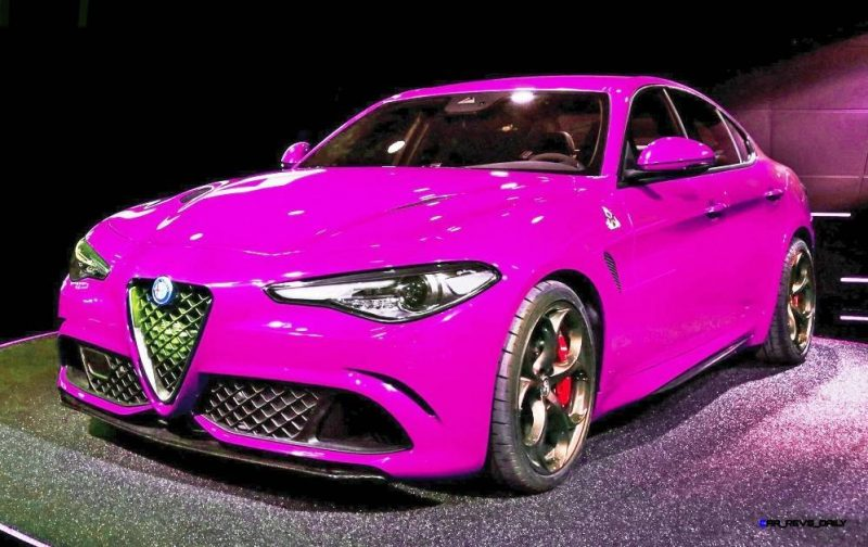 2016 Alfa Romeo Giulia Color Test 9