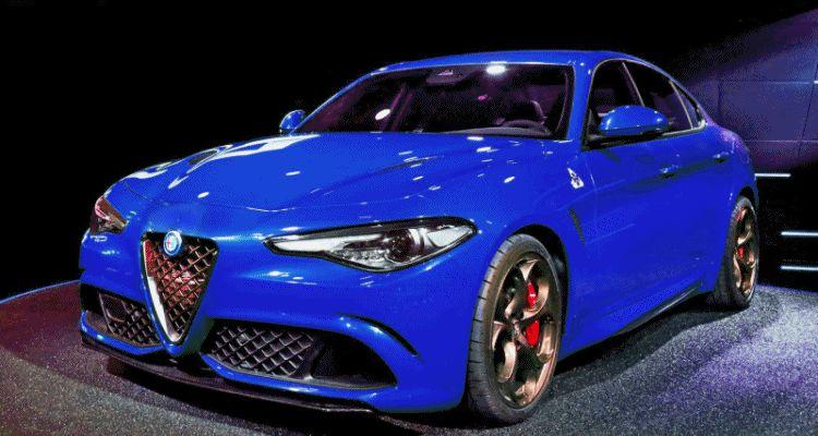2016 Alfa Romeo Giulia Color Test