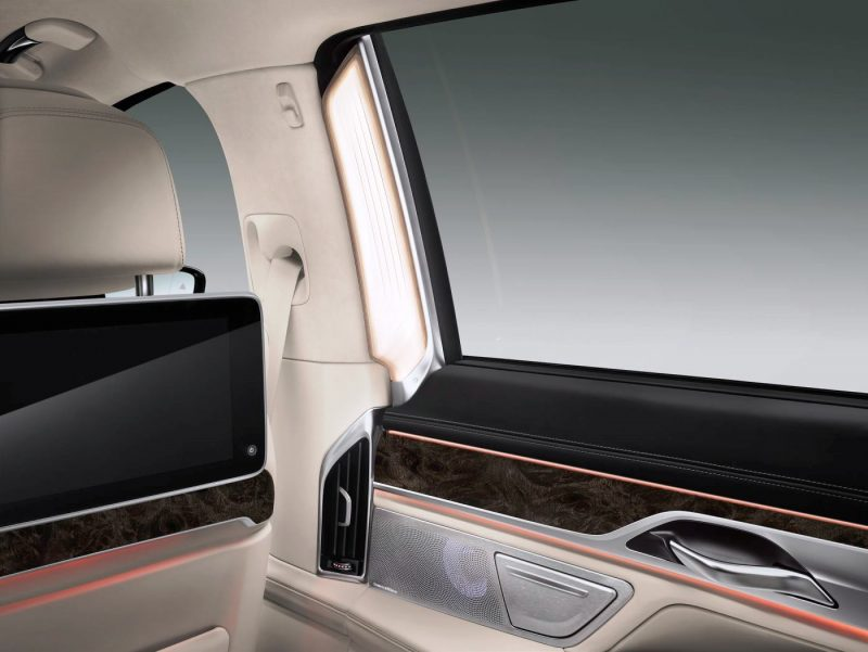 2016 BMW 7 Series Interior Photos 12