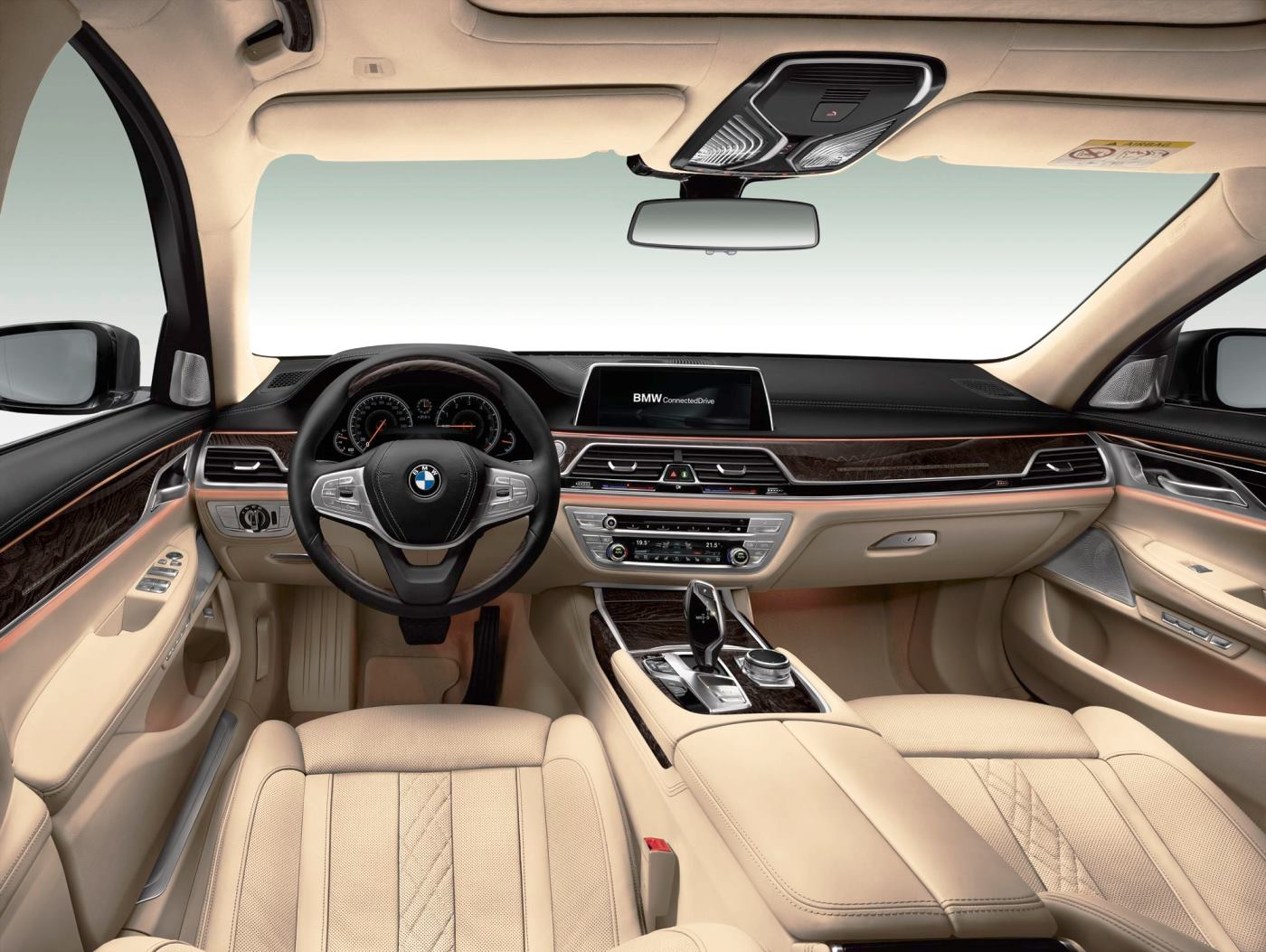 2016 BMW 7 Series Interior Photos 13