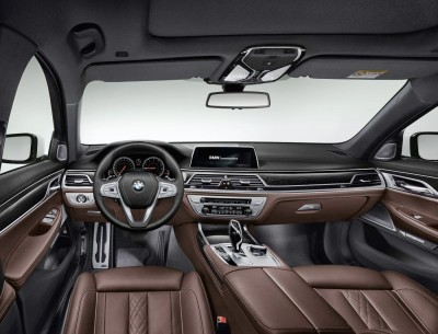 2016 BMW 7 Series Interior Photos 14