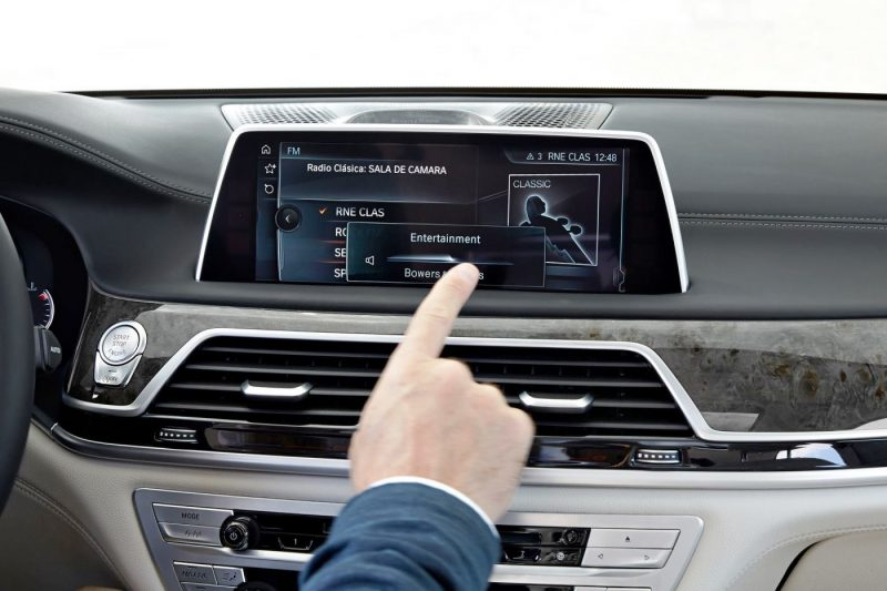 2016 BMW 7 Series Interior Photos 2