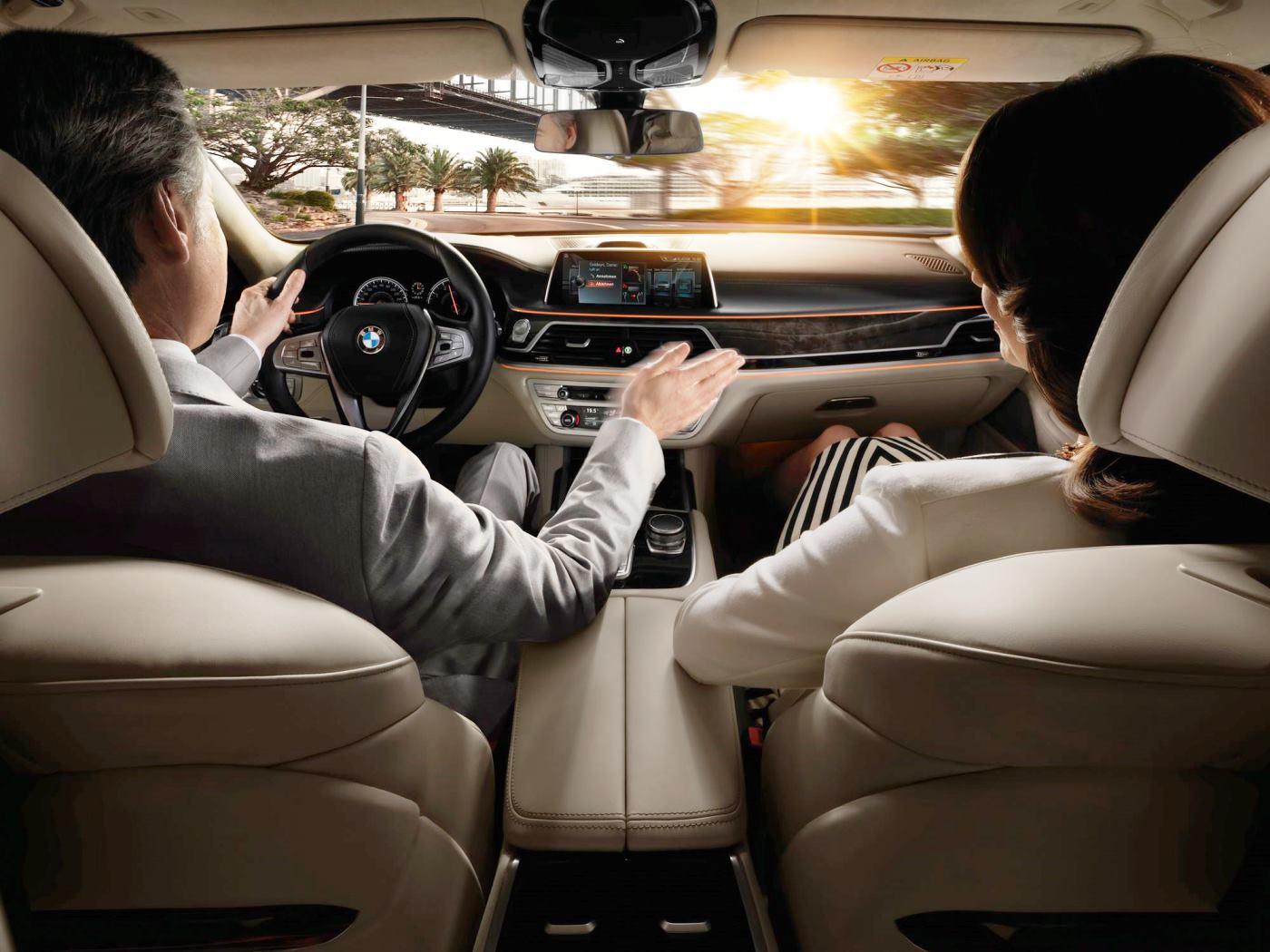 2016 BMW 7 Series Interior Photos 22