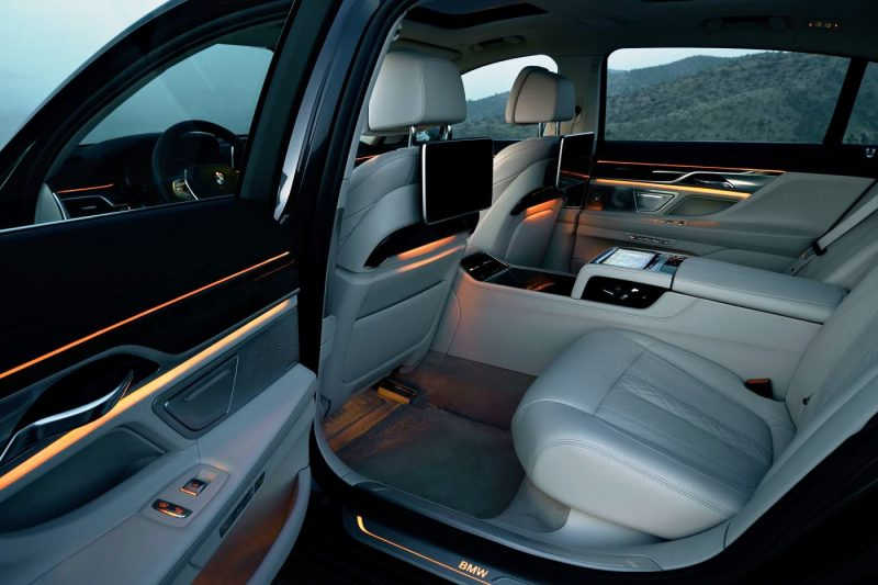 2016 BMW 7 Series Interior Photos 5