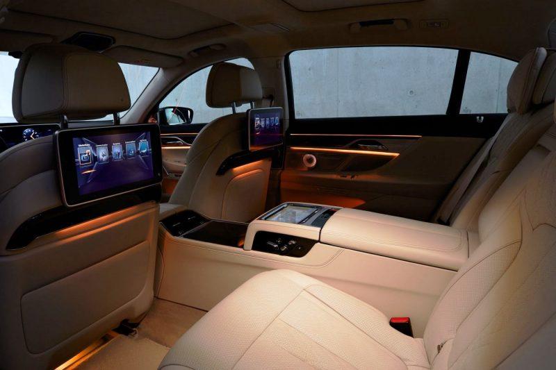 2016 BMW 7 Series Interior Photos 6