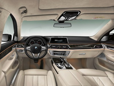 2016 BMW 7 Series Interior Photos 9