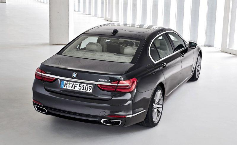 2016 BMW 750 Exterior Photos 22