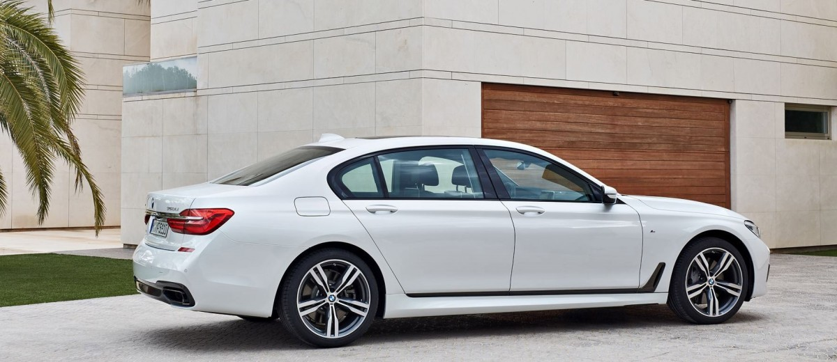 2016 BMW 750 Exterior Photos 42