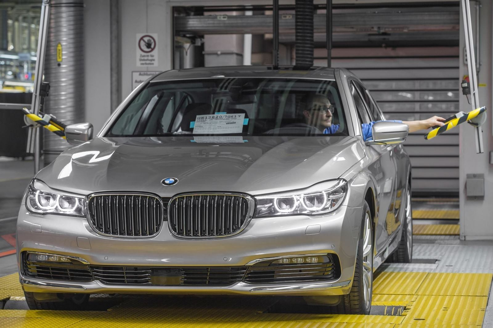 2016 BMW 750Li Launch Images 78