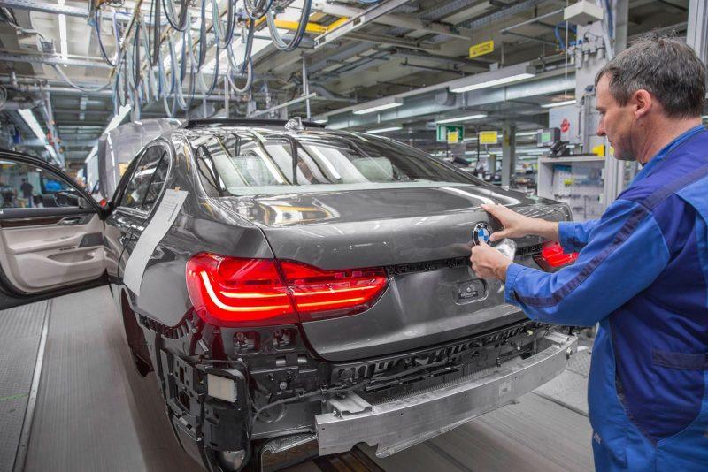 2016 BMW 750Li Launch Images 80