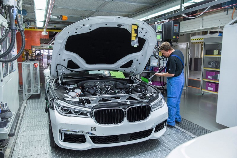 2016 BMW 750Li Launch Images 82