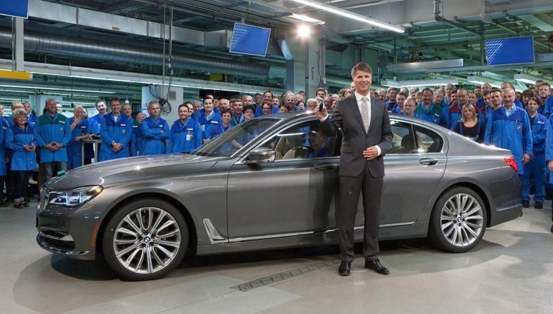 2016 BMW 750Li Launch Images 86