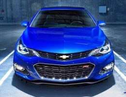 2016 Chevrolet Cruze Is All-New With Standard Turbo, 2.5in Length Stretch and 80-Lb Weight Loss