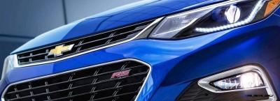 2016 Chevrolet CRUZE RS Premier 17