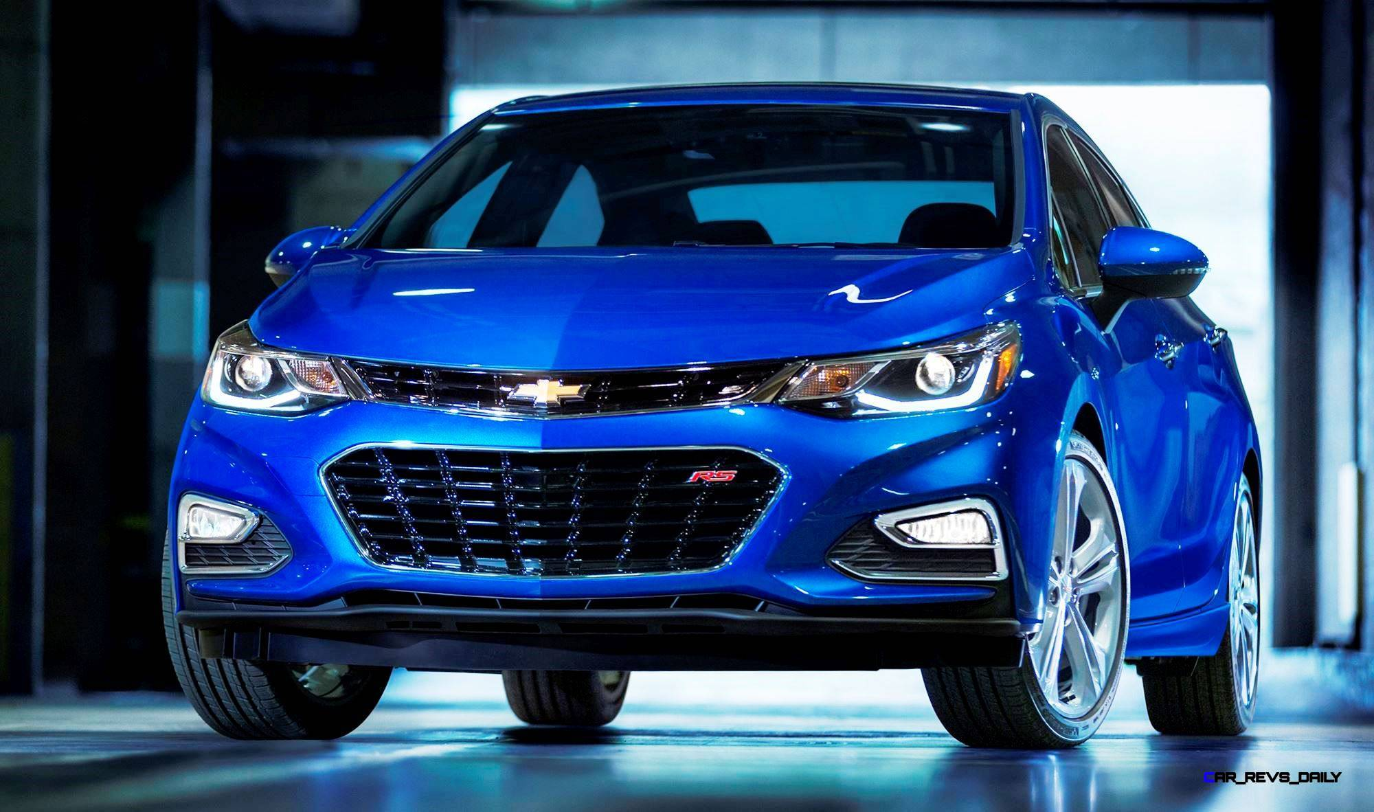 2016 chevrolet cruze is all new with standard turbo length. Black Bedroom Furniture Sets. Home Design Ideas
