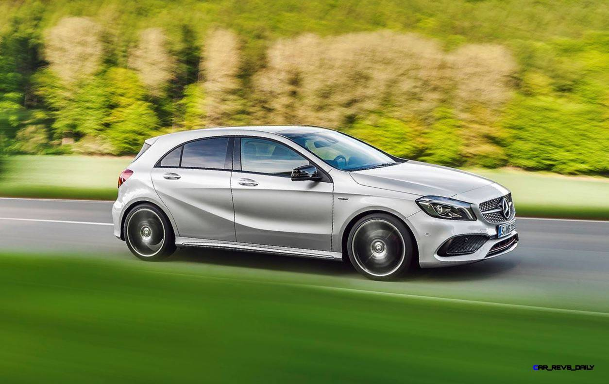2016 mercedes benz a class for Mercedes benz news