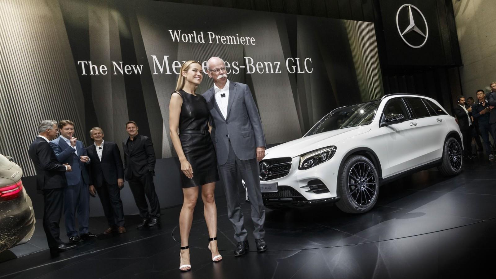 Weltpremiere: Der neue Mercedes-Benz GLC, Metzingen 2015World Premiere: The new Mercedes-Benz GLC, Metzingen 2015