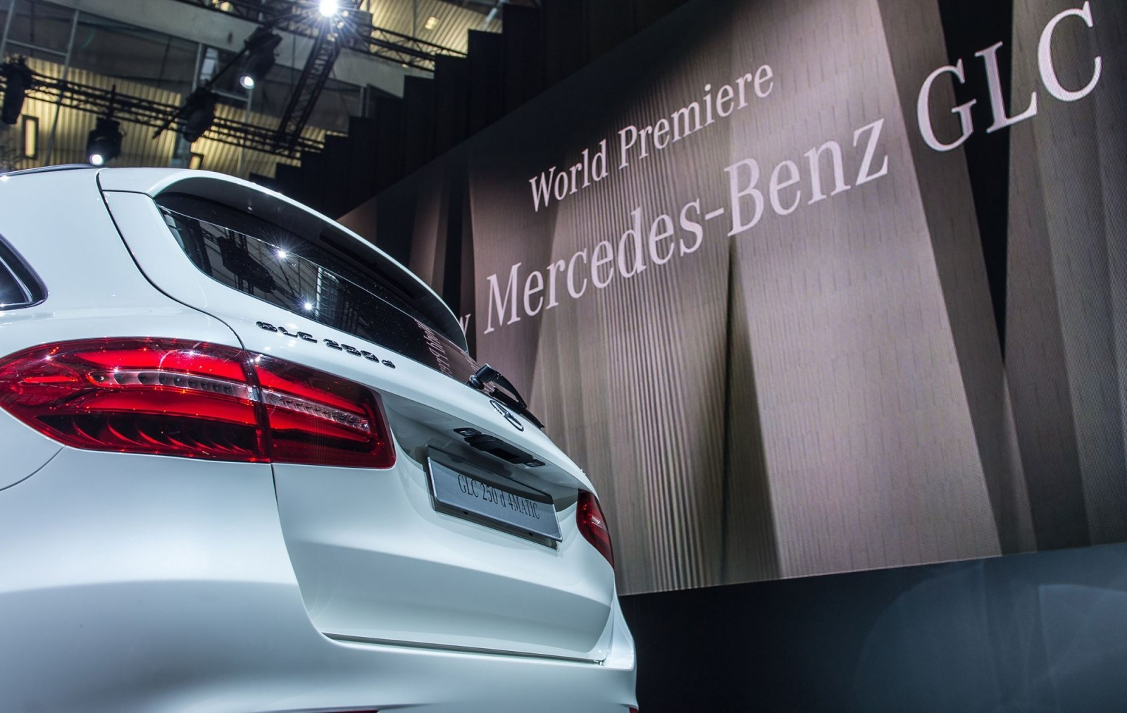 Weltpremiere: Der neue Mercedes-Benz GLC, Metzingen 2015