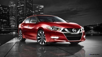 2016-nissan-maxima-coulis-red-side-view-night-skyline-zoom-hd copy
