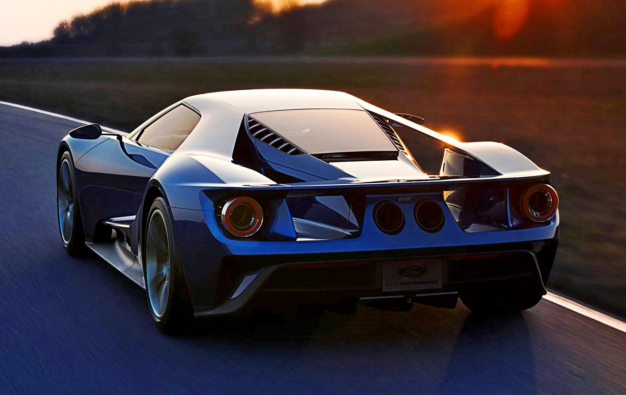 2017 Ford GT Blue New 1