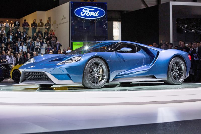 2017 Ford GT Blue New 12
