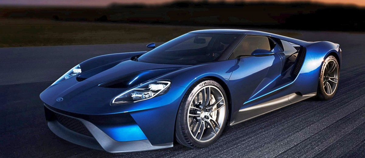 2017 Ford GT Blue New 2