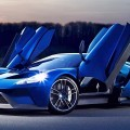 2017 Ford GT Blue New 6