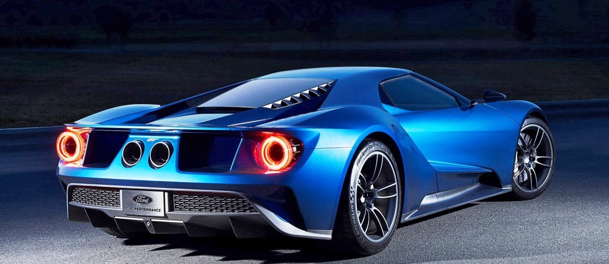 2017 Ford GT Blue New 7