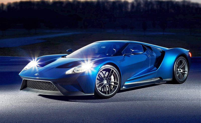 2017 Ford GT Blue New 8