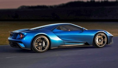 2017 Ford GT Blue New 9