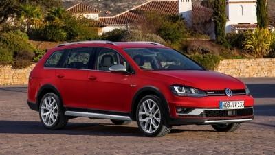 2017 Volkswagen Golf SportWagen Alltrack 1