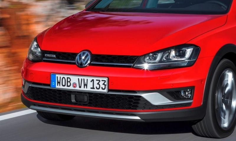 2017 Volkswagen Golf SportWagen Alltrack 5