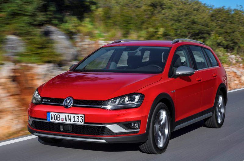 2017 Volkswagen Golf SportWagen Alltrack 6