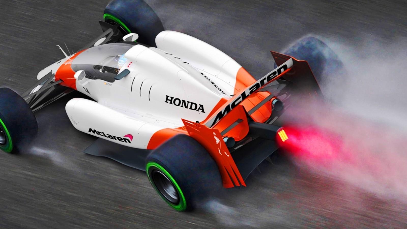 F1: 2019 McLaren-Honda F1 Car Renderings