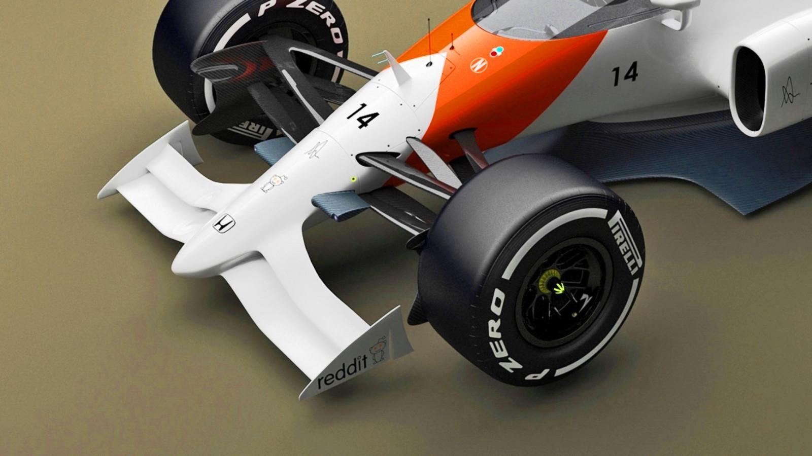 2019 McLaren-Honda F1 Car Renderings