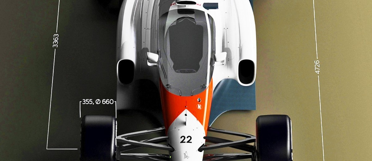 Andries Van Overbeeke - 2019 McLaren-Honda Formula One Renderings 1