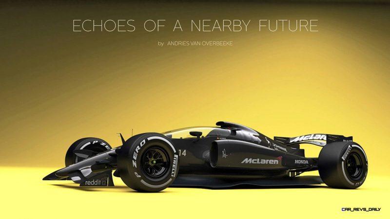 Andries Van Overbeeke - 2019 McLaren-Honda Formula One Renderings 11