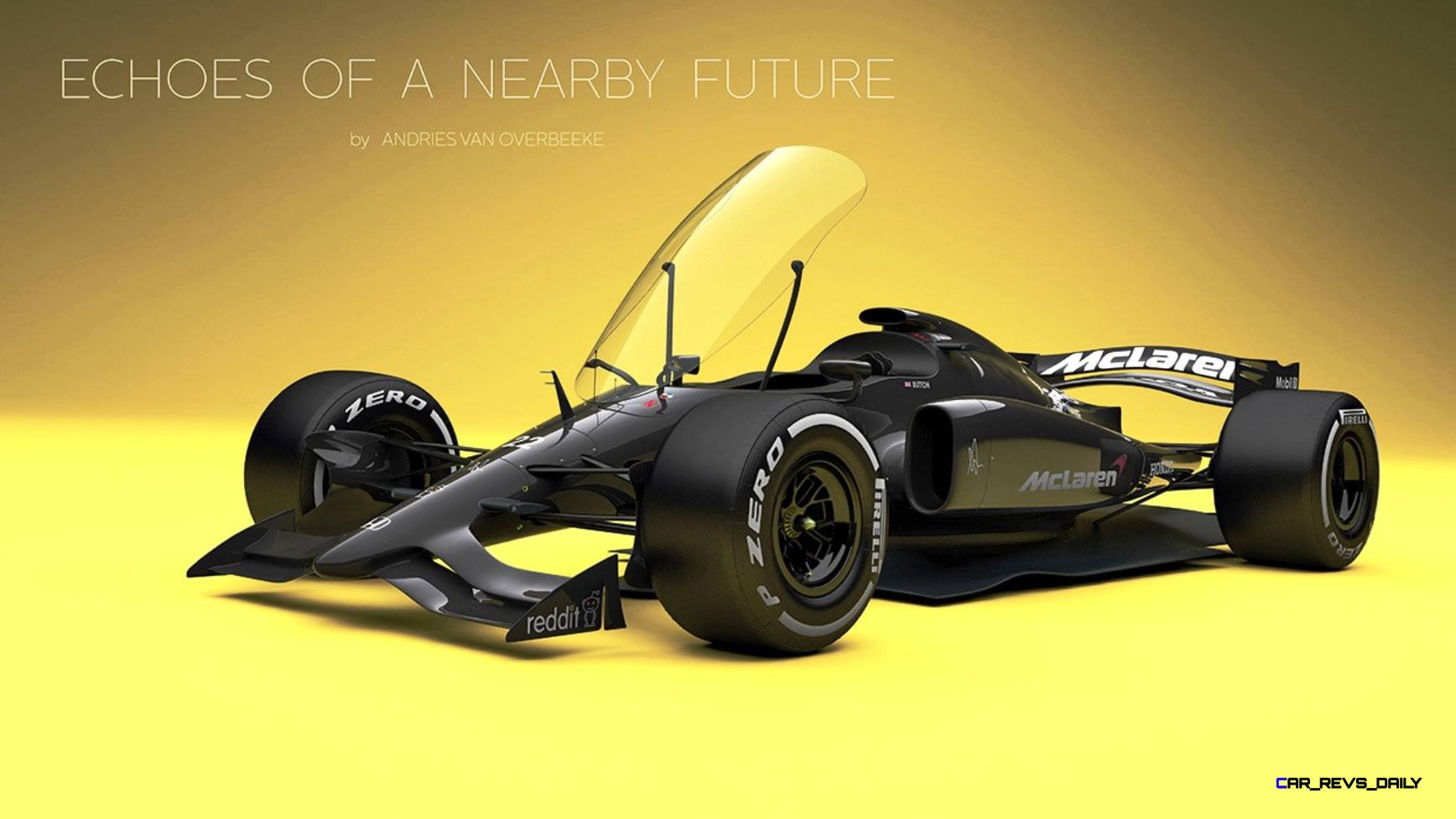 Andries Van Overbeeke - 2019 McLaren-Honda Formula One Renderings 12