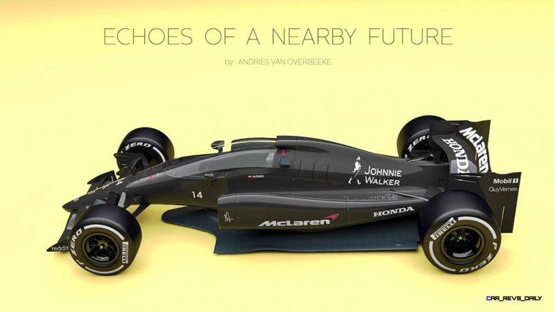 Andries Van Overbeeke - 2019 McLaren-Honda Formula One Renderings 13