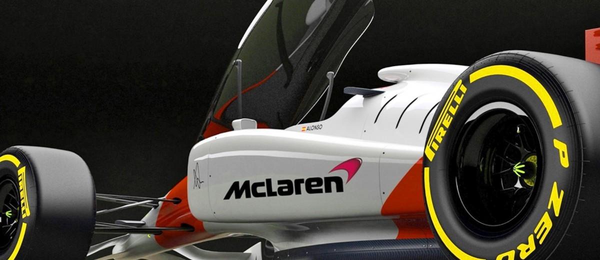 Andries Van Overbeeke - 2019 McLaren-Honda Formula One Renderings 2