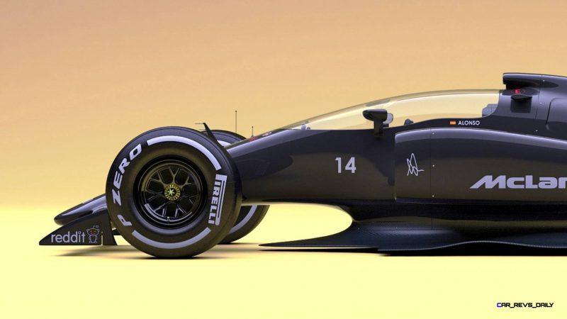 Andries Van Overbeeke - 2019 McLaren-Honda Formula One Renderings 3