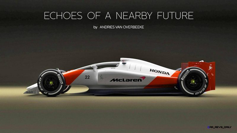 Andries Van Overbeeke - 2019 McLaren-Honda Formula One Renderings 4