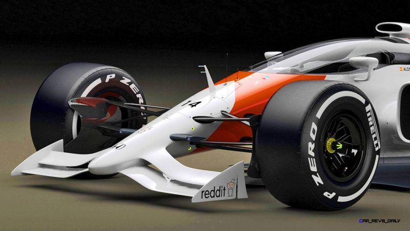 Andries Van Overbeeke - 2019 McLaren-Honda Formula One Renderings 5