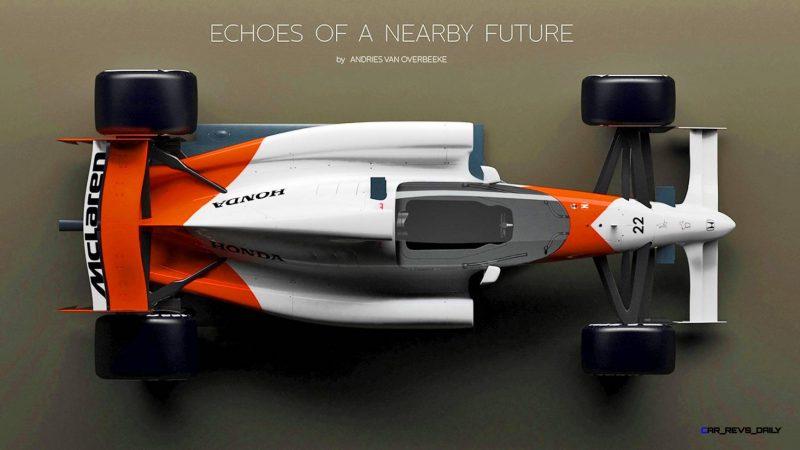 Andries Van Overbeeke - 2019 McLaren-Honda Formula One Renderings 6