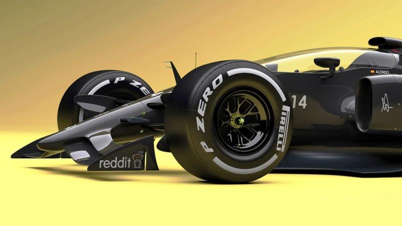 Andries Van Overbeeke - 2019 McLaren-Honda Formula One Renderings 8