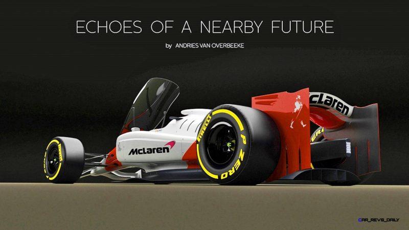 Andries Van Overbeeke - 2019 McLaren-Honda Formula One Renderings 9